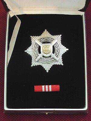 SRJ YUGOSLAVIA - ORDER OF MERIT IN THE DEFENSE AND SECURITY 3rd CLASS IN BOX + P
