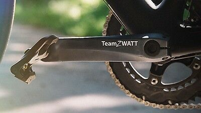 Team Zwatt Power Meter - Kickstarter Project - Brand New - 172.5mm Ultegra Crank