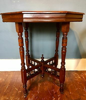A Lovely  Antique octagonal occasional table