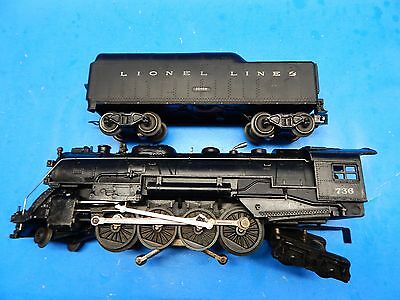 Lionel 736 with 2046W tender