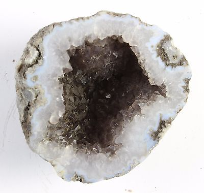 "Amethyst Quartz Geode Unpolished    2 1/4"" X 2""  #7"