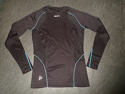 Ladies CRAFT Running Fitness Long Sleeve Base layer TOP size 36 / 8