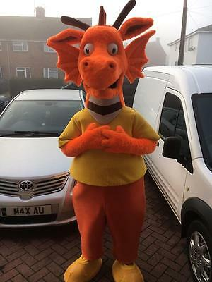 Professional Dragon Mascot / Character Costume For Sale. Cosplay, Fancy Dress.