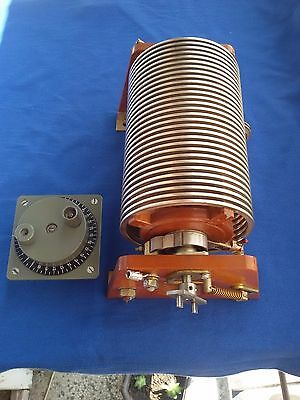 Variable Roller Inductor Coil for HF PA or Antenna Tuner--- KW+++