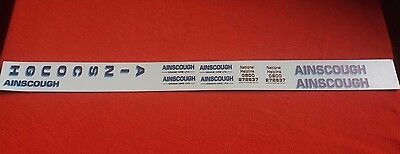 Ainscough Crane  Decals 1:50 Old Livery Code 3 Suitable For Wsi Conrad Tekno