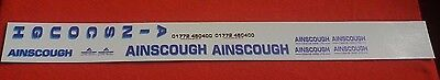 Ainscough Crane  Decals 1:50 New Livery Code 3 Suitable For Wsi Conrad Tekno