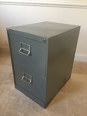 Leabank fireproof 2 Drawer Metal Filing Cabinet