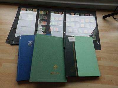 (3497) World Stamp Collection M & U In 3 Stock Albums + Sheets