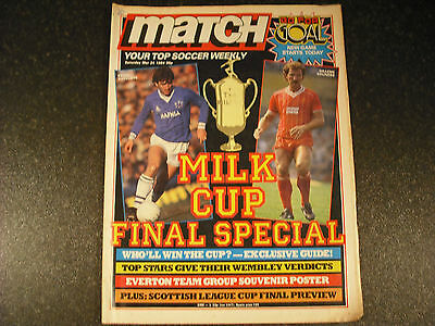 1984 Milk Cup Final-Match Weekly Special