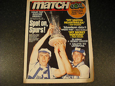 Spurs 1984 UEFA Cup - Match Weekly