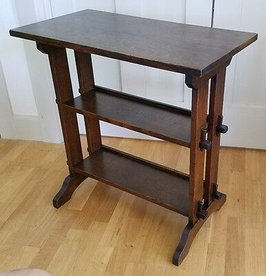 ROYCROFT BOOKSHELF Arts & Crafts MISSION OAK Stickley Era