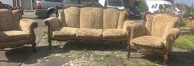 Antique Chairs And Sofa