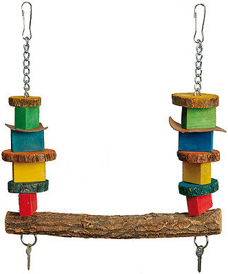 Key Trapeze Parrot Bird Toy Swing - African Greys, Amazons, Cockatoos etc 3509