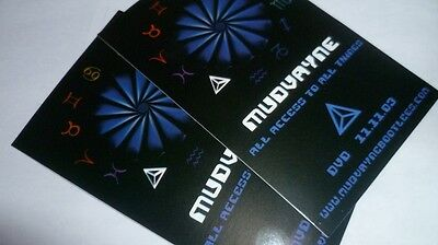 STICKERS set of MUDVAYNE All Access to All Things promo 2003 free shipping metal