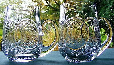 Waterford Crystal Tankard - Over Lapping Circles Pattern