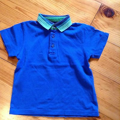 M&S polo shirt 18 - 24 months boy  EUC.