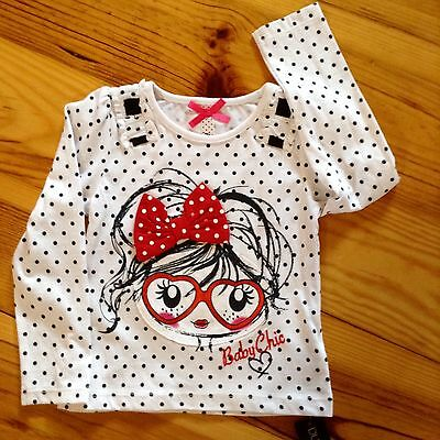 BNWT 18-24 months girl appliqué top NEW.