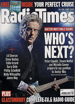 Radio Times Dr Who Peter Capaldi Michelle Gomez Missy Steven Moffat Who's Next