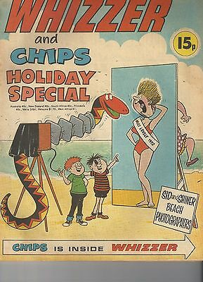 Whizzer & Chips Holiday Special 1972  RARE Nice copy Beano Dandy Buster Cor
