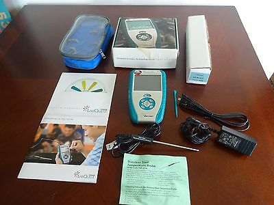 Vernier Labquest Handheld Data Collector With 2 Probes, Accessories And Box