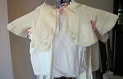 Vintage Childs/Baby Cape With Slip