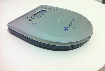 Sony CD WALKMAN D-EJ725 Portable CD Player, lettore cd G PROTECTION jog proof