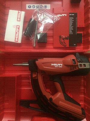 Hilti GX 120 Nail Gun. 2 Years Warranty UK Next Day Delivery.