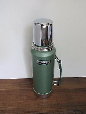 Vintage STANLEY Aladdin Metal Work Thermos with Handle 1 Quart, A-944DH