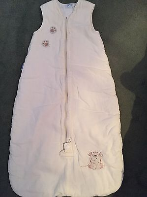 Gro Bag, 6-18 Months In Cream, 2.5 Tog