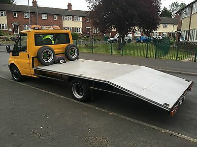 Transit 2,4 Cc Recovery Truck Beaver Tail 15 Ft Bed
