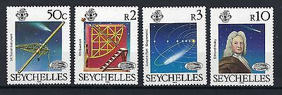 Seychelles 1986 Halley Comet High Value Set Of Four Mnh Post Free To The Uk.
