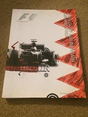 2004 Bahrain Grand Prix Press Pack Includes Official Programme F1