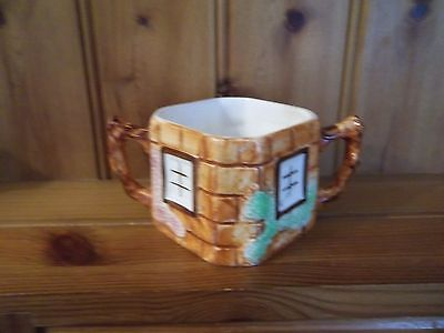 Keele Pottery  Cottage Ware Open Sugar Bowl