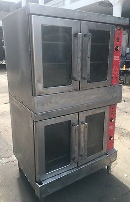 Vulcan Gas Double Deck Full Size Convection Oven VC4GD-10