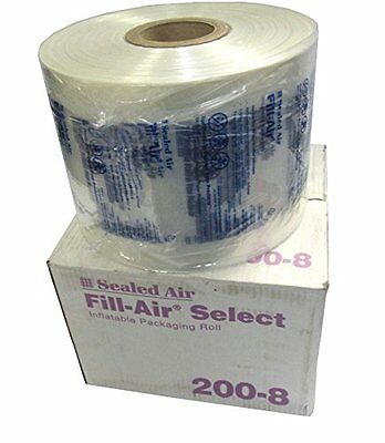 """Sealed Air 200-8 Fill-Air Elite 8"""" x 8"""" Inflatable Packaging Roll 2130' Bubble"""