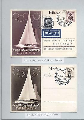 (940525) Olympics, Sailing, Germany / Deutsches Reich