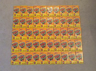 Lego Create The World Trading Cards 50 packs (200 cards)