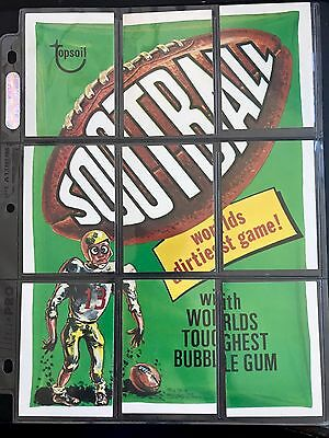 1975 ORIGINAL 12th SERIES Wacky Packages Complete Puzzle Checklist Set 9/9 NICE