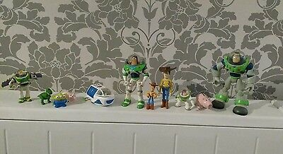Toy story action Figures woody buzz Rare