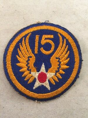 WWII US 15th Army Air Corps Patch