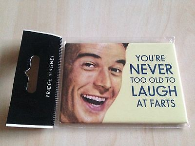New You're Never Too Old To Laugh At Farts - MAGNET (2 x 3 inches) Funny Magnets