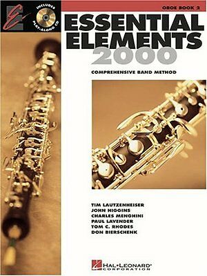 Essential Elements 2000 for Band: Oboe Book 2