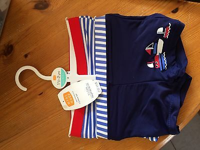 Boys Swimming Trunks 2 pk - Age 18 months to 2 years
