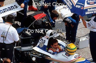 Ayrtron Senna Williams FW16 San Marino Grand Prix 1994 Photograph 6