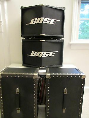 Audiophile DJ Vintage 80s Bose Panaray 800 Professional Loud Speakers 901 Style