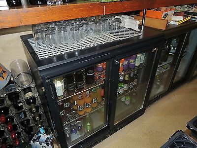 Two commercial under bar beer display fridges £60 each age unknown