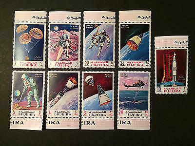 1969 - Fujeira - Apollo Space Flights  - Space - Stamps