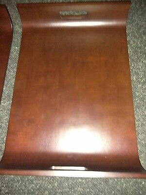 Mid Century Modern Bent curved wood Serving Tray large 14x 20 aprox