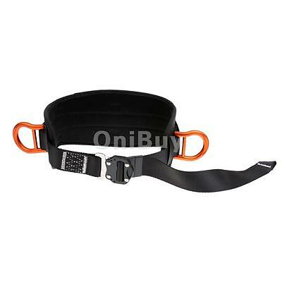 Safety Wide Padded Mountain Rock Tree Climbing Waist Belt Protective Harness