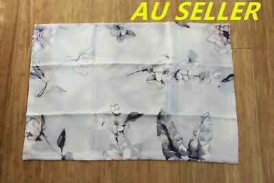 100% Mulberry Pure Silk Pillowcase cover 25 momme Anti Ageing Purple Floral Skin